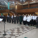 20 PNS Disumpah di Hadapan Rektor UPI