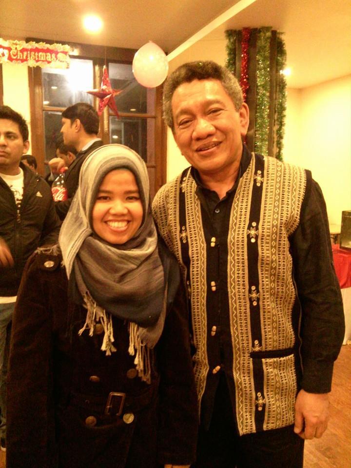 Popi bersama Dubes Indonesia utk India