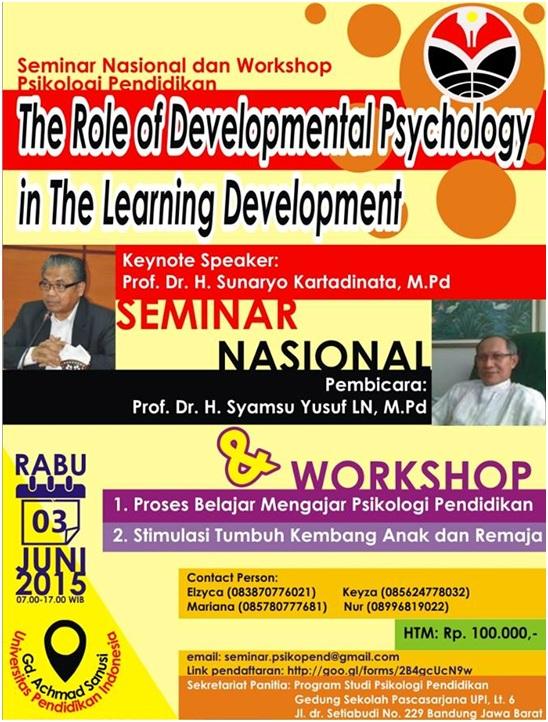 Prodi Psikologi Pendidikan SPs UPI Selenggarakan Seminar Nasional