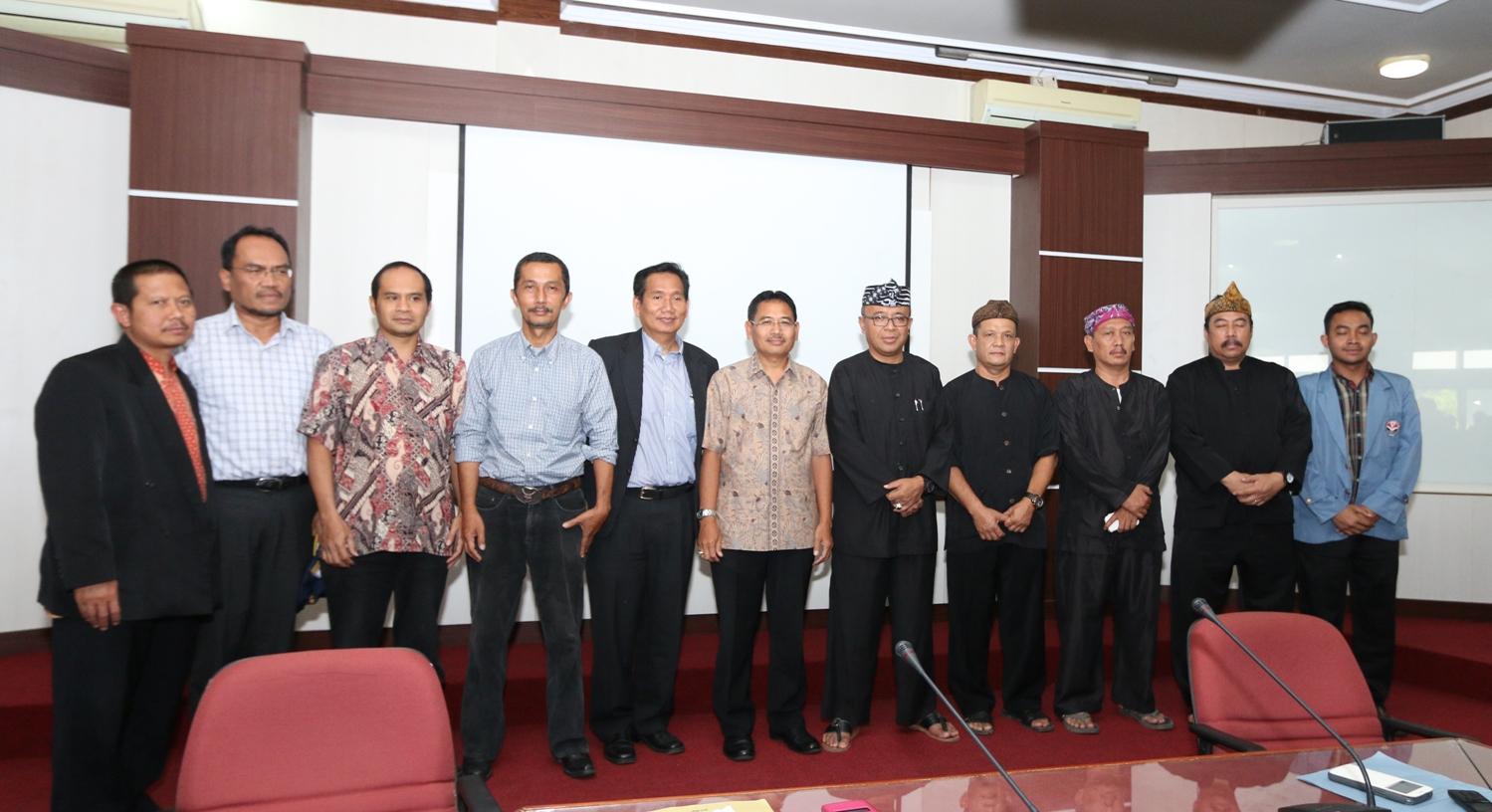 Kepala Bapeda Subang Terima Mahasiswa KKN UPI