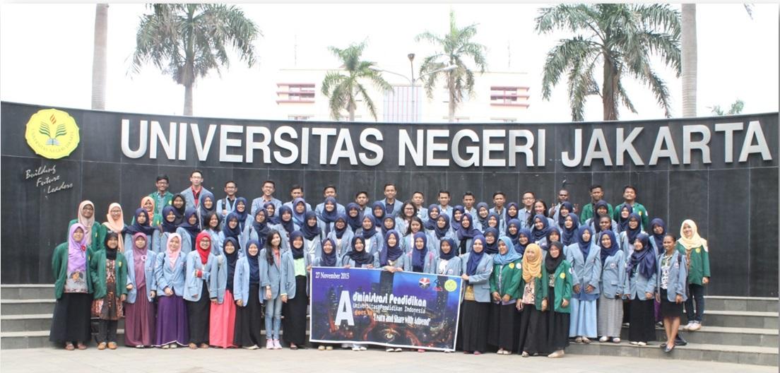 """Mahasiswa Adpend """"Goes To Campus"""" ke Universitas Negeri Jakarta"""