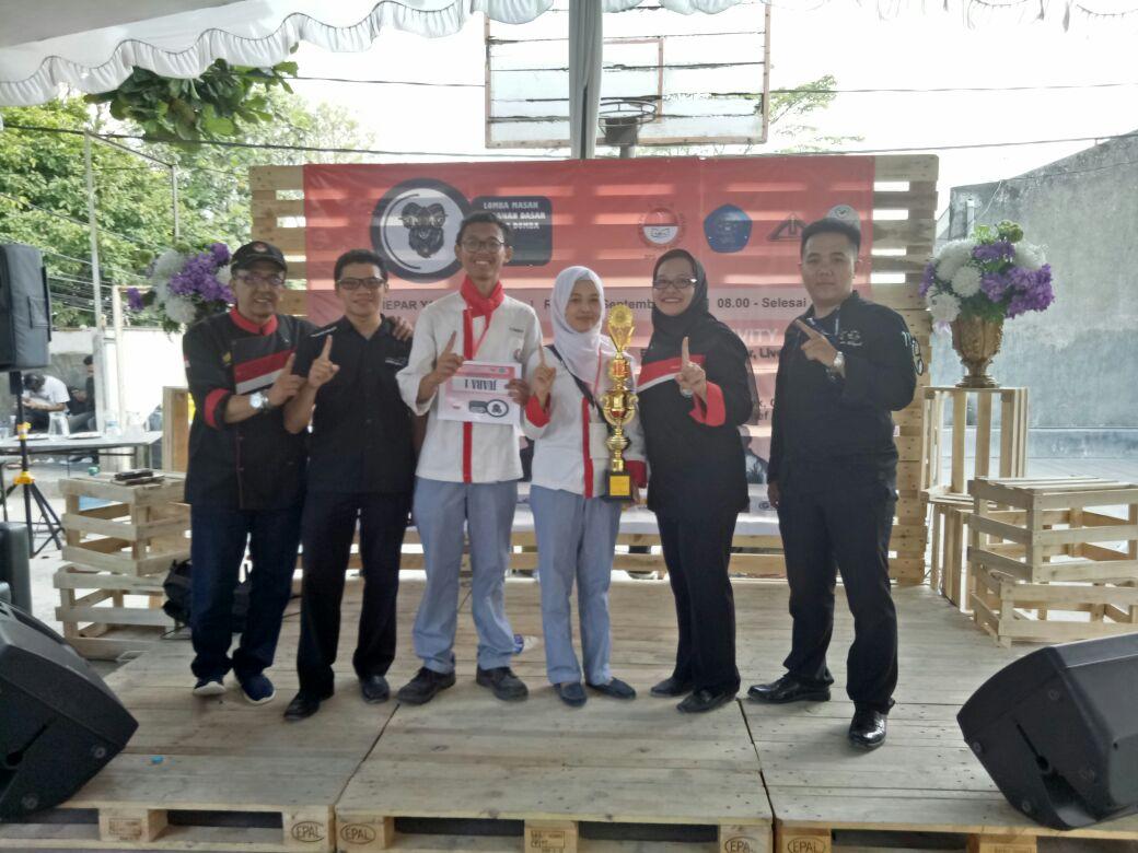 MIK UPI Juara Battle Chef Katagori Mahasiswa Berbahan Baku Daging Domba Se-Jabar