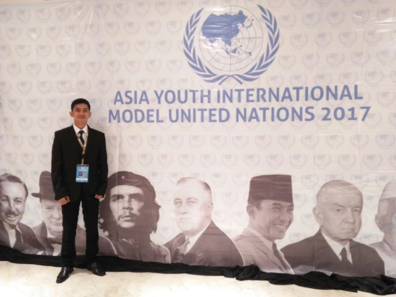 MAHASANTRI PBSB UPI HADIRI ASIA YOUTH INTERNATIONAL MODEL UNITED NATION 2017 DI MALAYSIA