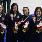 14 Medali, Raihan sementara Cabor Renang Bapomi Jabar