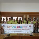 Closing Ceremony of UPI Culinary Camp 2019: International Students Learn Sundanese Culture and Cuisine at UPI