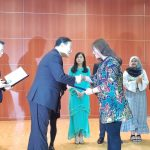 AN UPI STUDENT WINS A K-SPEECH COMPETITION IN SOUTH KOREA